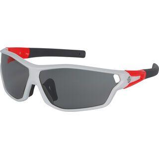 Scott Leap Full Frame LS, white glossy red/grey light sensitive - Sonnenbrille