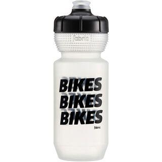 Fabric Gripper Bottle Bikes Bikes Bikes 600 ml, clear/black - Trinkflasche