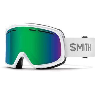 Smith Range, white/Lens: green sol-x mirror - Skibrille