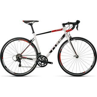 Cube Attain Pro 2016, white´n´black - Rennrad