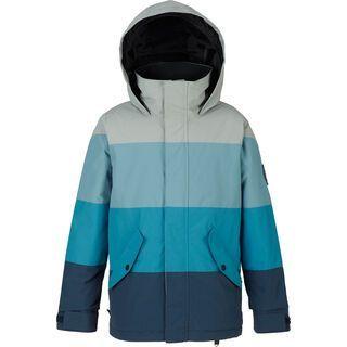 Burton Boys Symbol Jacket, mood indigo/mountaineer/bluestone - Snowboardjacke