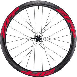 Zipp 303 Firecrest Carbon Clincher Tubeless Disc-brake, schwarz/rot - Vorderrad