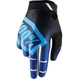 100% Ridefit, corpo blue - Fahrradhandschuhe