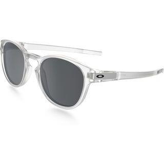 Oakley Latch, matte clear/Lens: black iridium - Sonnenbrille