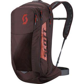 Scott Trail Protect Evo Fr'24, maroon red/orange pumpkin - Fahrradrucksack
