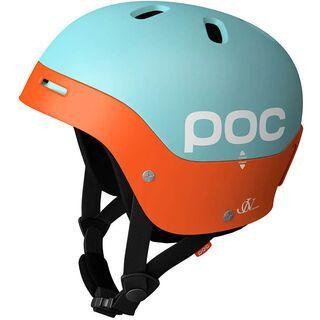 POC Frontal, Light Blue/Orange - Skihelm
