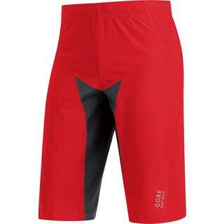 Gore Bike Wear Alp-X Pro Windstopper SO Shorts, red black - Radhose