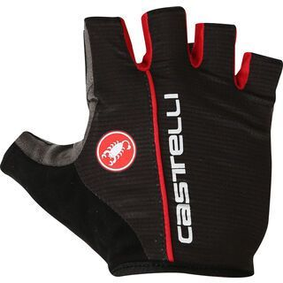 Castelli Circuito Glove, black/red - Fahrradhandschuhe