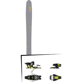 DPS Skis Set: Wailer 112 RPC Hybrid 2016 + Salomon STH2 WTR 13