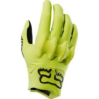 Fox Attack Glove, yellow/black - Fahrradhandschuhe