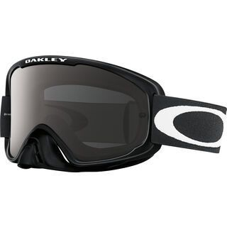 Oakley O2 MX, jet black/Lens: dark grey - MX Brille