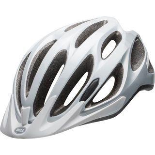 Bell Traverse, white/silver - Fahrradhelm