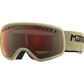 Marker 16:9, khaki/Lens: surround mirror - Skibrille