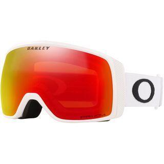 Oakley Flight Tracker XS Prizm, matte white/Lens: torch iridium - Skibrille