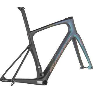 Scott Foil 10 HMF Frameset carbon black/prism green 2021