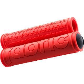 Fabric Push Slip On Grips, red - Griffe