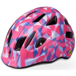 Specialized Mio MIPS (ANGi komp.), pink geo - Fahrradhelm