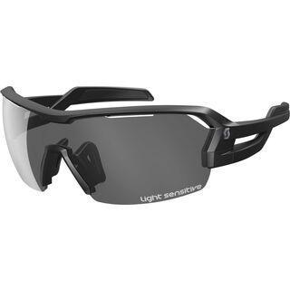 Scott Spur LS + Spare Lens, black matt/grey light sensitive - Sonnenbrille