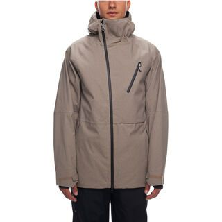 686 Men's GLCR Hydra Thermagraph Jacket, khaki melange - Snowboardjacke