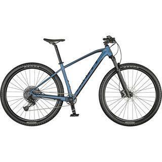 Scott Aspect 910 juniper blue/brushed metall 2021