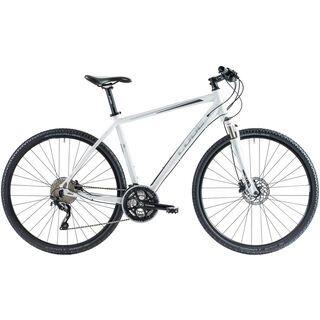 Cube Nature Pro 2014, white/grey/anthrazit - Fitnessbike