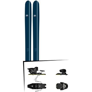 DPS Skis Set: Lotus 124 Powderworks Special Edition 2016 + Salomon Warden MNC 13