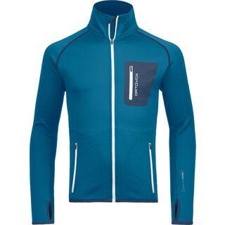Ortovox Merino Fleece Jacket M, blue sea - Fleecejacke