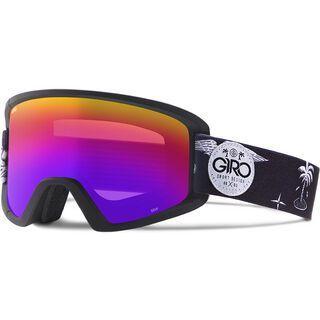 Giro Semi inkl. Wechselscheibe, black fresh hesh/Lens: rose spectrum - Skibrille