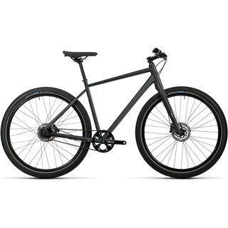 *** 2. Wahl *** Cube Hyde Pro 2016, black white - Urbanbike | Größe 54 cm