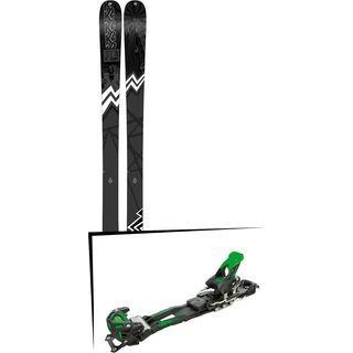 Set: K2 SKI Press 2019 + Tyrolia Adrenalin 16 solid black flash green