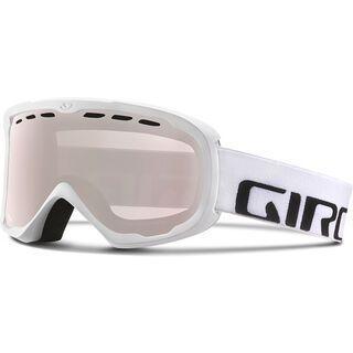 Giro Score, white wordmark/Lens: rose silver - Skibrille