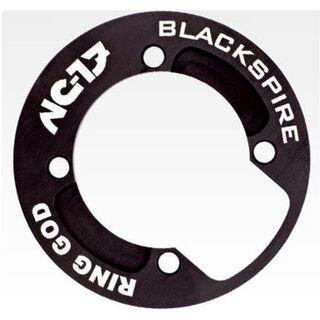 NC-17 Kettenschutzsch. RING GOD, AL, 4 Loch, 104mm, 32-34 Zähne schwarz - Bashguard