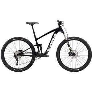 Kona Satori 2019, black w/ white & olive - Mountainbike
