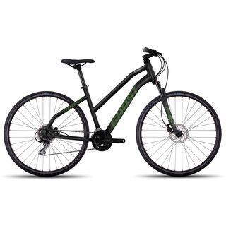 Ghost Square Cross 2 W 2017, black/green - Fitnessbike