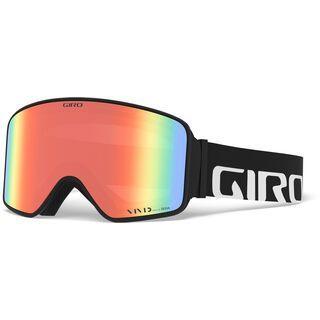 Giro Method inkl. WS, black wordmark/Lens: vivid emerald - Skibrille