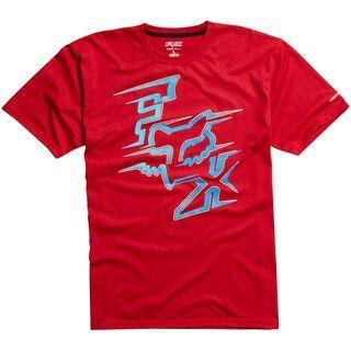 Fox Voltcano Tech Tee, red - T-Shirt