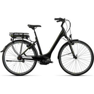 Cube Travel Hybrid 400 Easy Entry 2016, black´n´lime - E-Bike