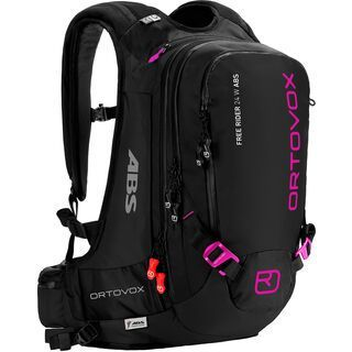 Ortovox Free Rider 24 ABS Women inkl. M.A.S.S. Unit, black anthracite - Lawinenrucksack