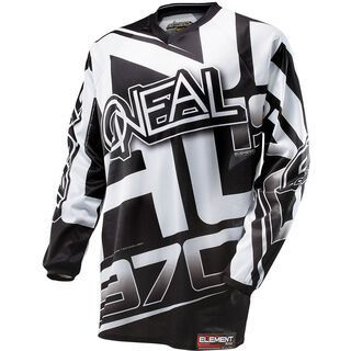 ONeal Element Jersey Racewear, black/white - Radtrikot