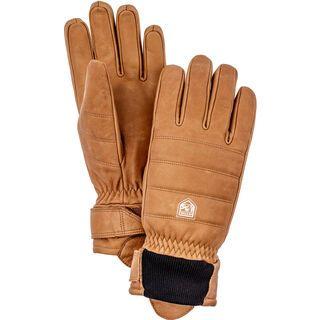 Hestra Alpine Leather Primaloft 5 Finger, kork - Skihandschuhe