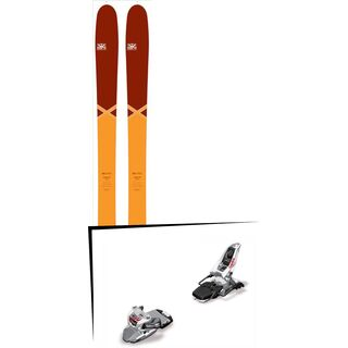 Set: DPS Skis Cassiar 95 Pure3 2016 + Marker Squire 11 (1247017)