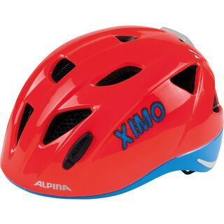 Alpina Ximo Flash, neon red-blue - Fahrradhelm
