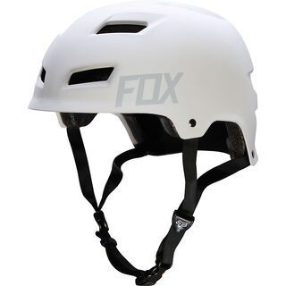 Fox Transition Hardshell Helmet, matte white - Fahrradhelm