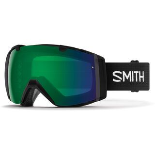 Smith I/O inkl. Wechselscheibe, black/Lens: everyday green mirror chromapop - Skibrille