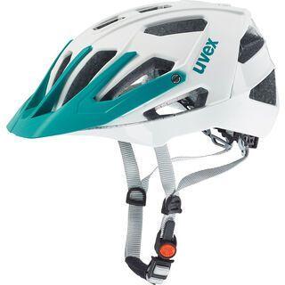 uvex Quatro, white mat-mint - Fahrradhelm