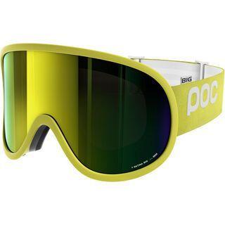 POC Retina Big, yellow/Lens: bronze yellow mirror - Skibrille