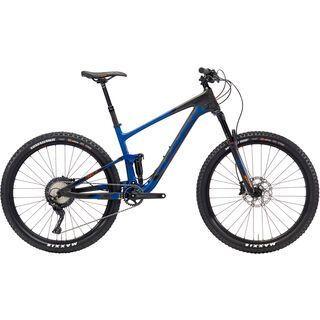 Kona Hei Hei Trail CR 27.5 2018, blue/black/orange - Mountainbike
