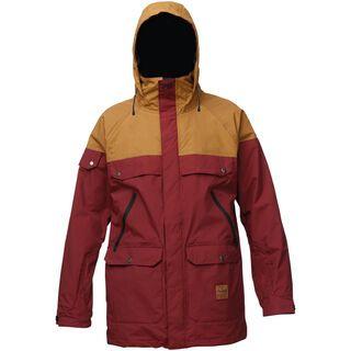 Analog Anthem Jacket, burgundy/leather brown - Snowboardjacke