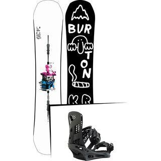 Set: Burton Kilroy Process 2019 + Burton Genesis X black matte