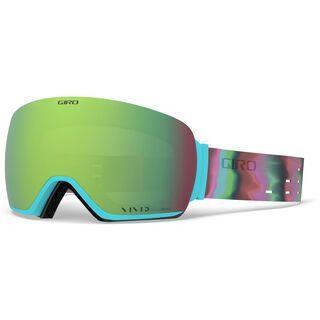Giro Lusi inkl. WS, dusty purple/Lens: vivid emerald - Skibrille